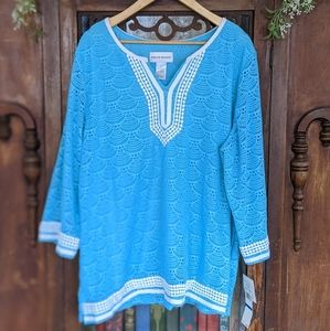 Alfred Dunner Lacey Tunic